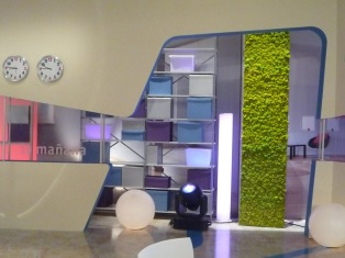 jardín vertical para RTVE