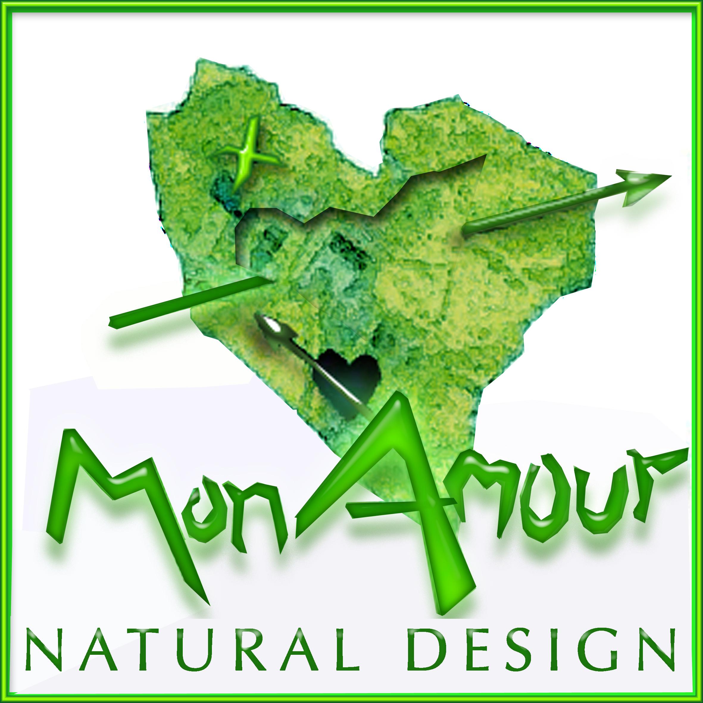 Logotipos Vegetales Monamour Natural Design
