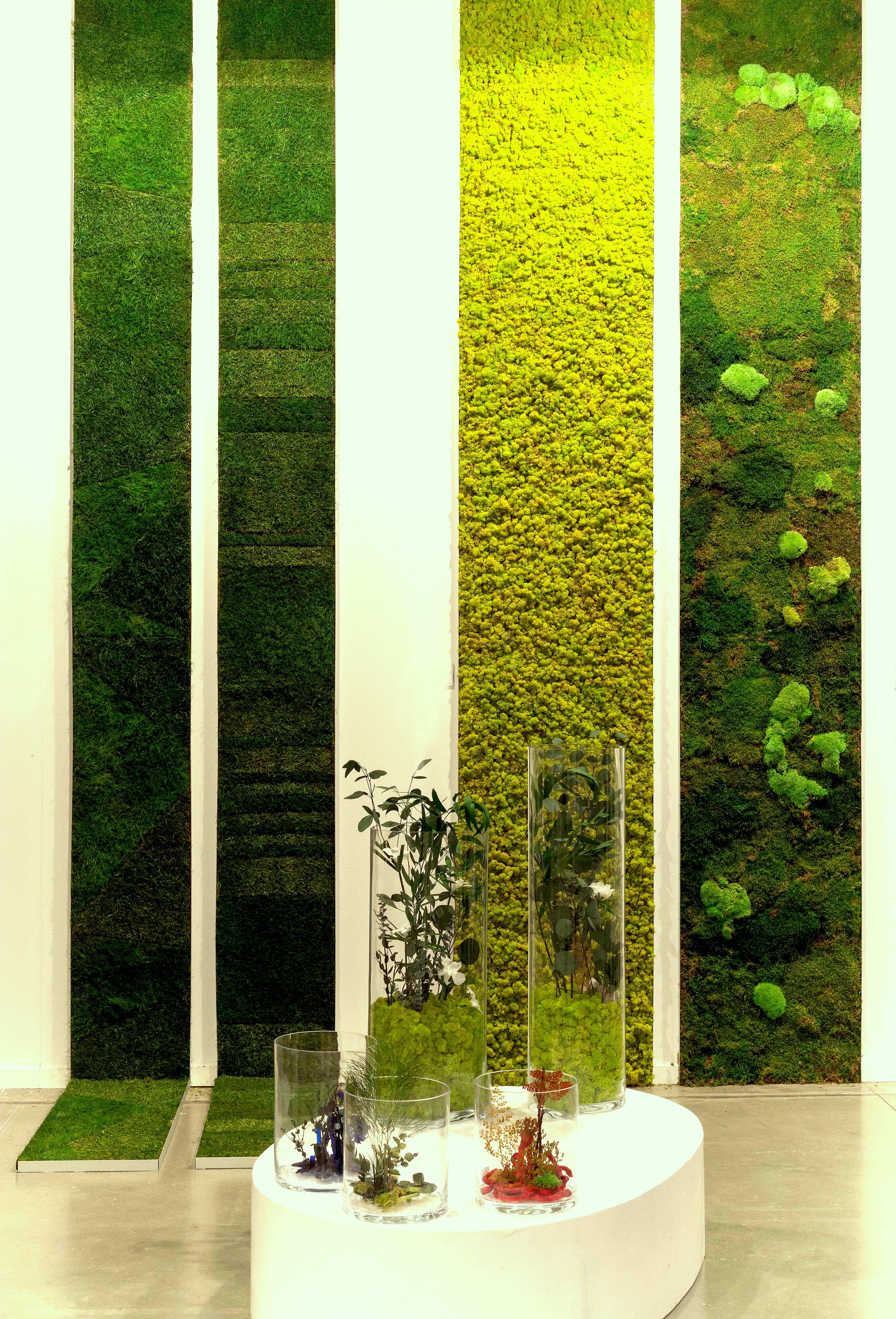 Jardines verticales monamour natural design for Materiales para jardines verticales