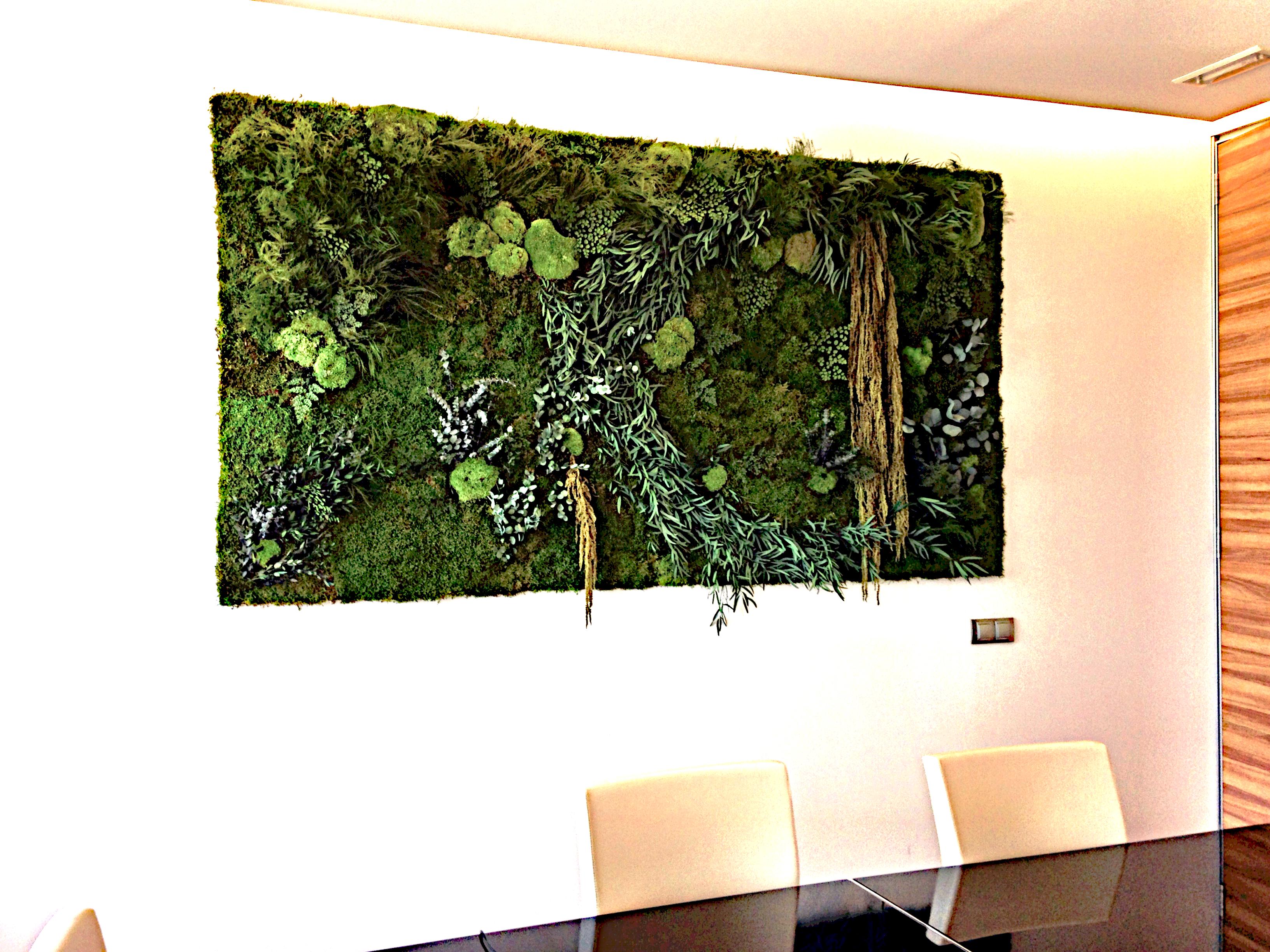 Jard n vertical para la oficina de contesta monamour for Jardin vertical oficina
