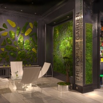 The Pop-Up Garden at The Westin Palace by Claudia Bonollo