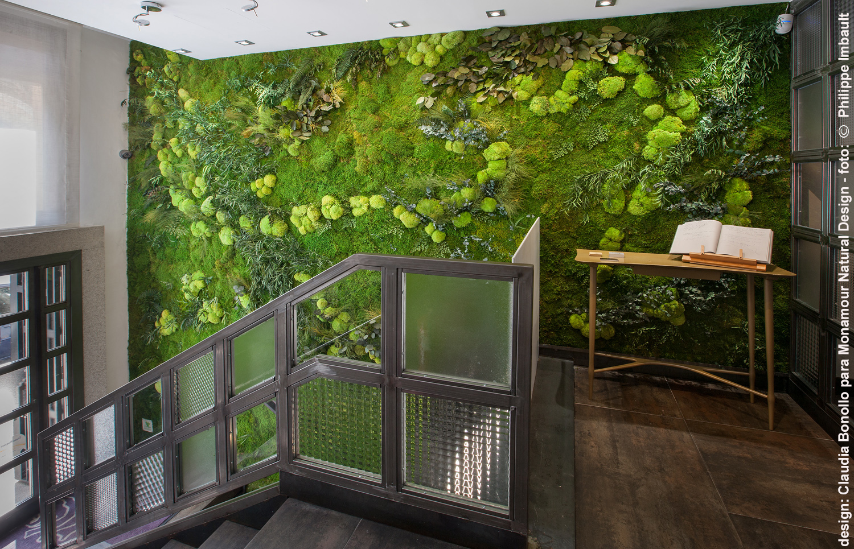 Monamour natural design jardines verticales de dise o y for Jardin vertical interior casa