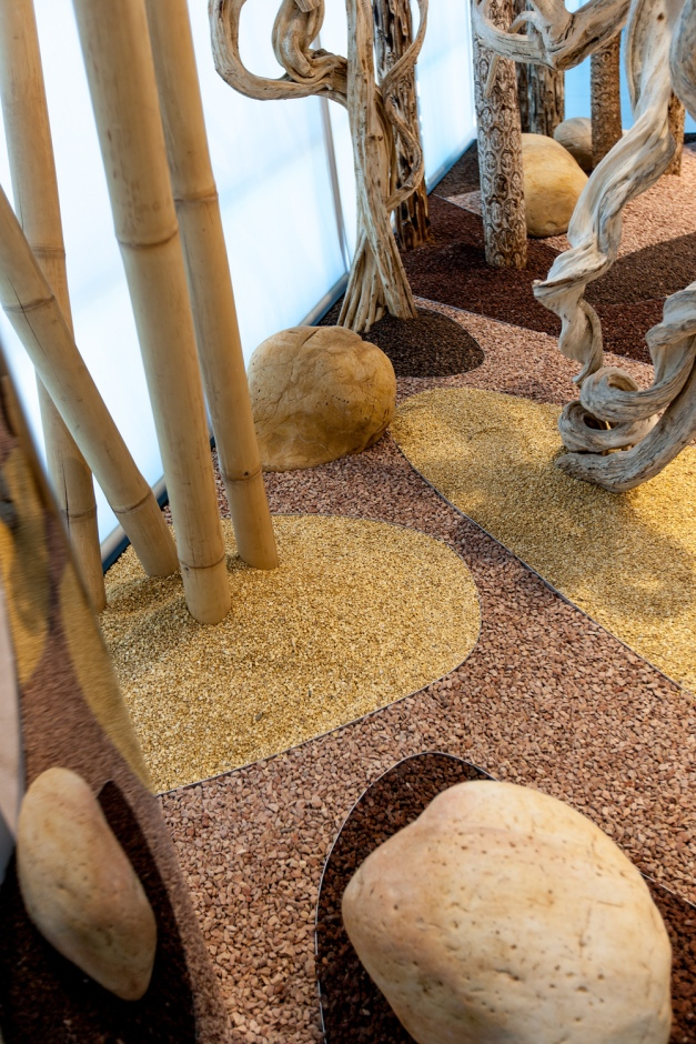 Jardines tem ticos para venis porcelanosa monamour for Jardin del desierto